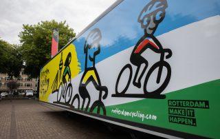 Scholenproject Rotterdam Cycling on Tour van start